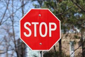 stop sign prevent accidents